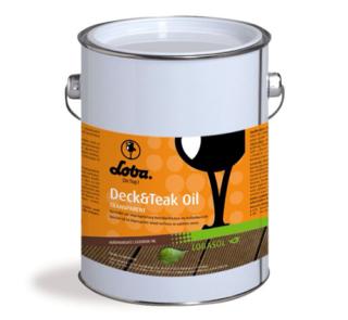 Ulei Deck LOBASOL Deck&Teak Oil 2,5l