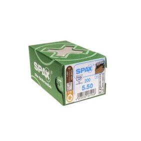 Suruburi din inox pentru deck Spax D